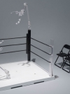 Tamashii Stage ACT. Ring Corner (Neutral Corner) & Pipe Chair Set(Pre-order)