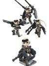 [Bonus] Desktop Army - Frame Arms Girl KT-321f Gourai Series 3Pack BOX(Pre-order)