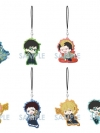 Blue Exorcist: Kyoto Saga - Clear Rubber Strap 7Pack BOX(Pre-order)