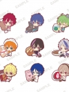 MARGINAL#4 KISS Kara Tsukuru Big Bang - PitaColle Rubber Strap 9Pack BOX(Pre-order)