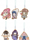 Yurucamp - Rubber Strap Collection 6Pack BOX(Pre-order)