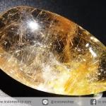 =โปรโมชั่น= พลอยไหมทอง Golden Rutilated Quartz (54.00 ct.)