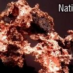 ทองแดงธรรมชาติ (Native Copper)