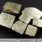 เพชรหน้าทั่ง หรือไพไรต์ pyrite ทรงลูกบาศก์ 7 ชิ้น (30g)