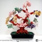 [โปรโมชั่น] ต้นไม้มงคล หิน 5 ชนิด ซิทริน, ควอตซ์,อเมทิสต์, โรสควอตซ์, อเวนจูรีน (สูง 30 cm)