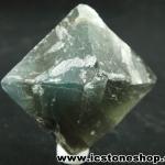▽หินธรรมชาติฟลูออไรต์ -Fluorite ทรงพีระมิดคู่ bipyramid (69g)