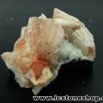 สติลไบท์-ฮิวแลนไดต์บนคาลซิโดนี (Heulandite -Stilbite on Chalcedony) (75g)