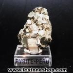 ผลึกกลุ่มไพไรต์ Pyrite เปรูแหล่งสวยสุดในโลก (59g)