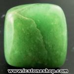 กรีนอะเวนจูรีน (Green Aventurine) ขัดมันขนาดพกพา (31g)