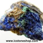 ▽อซูไรต์ มาลาไคท์ Azurite/Malachite ธรรมชาติ (7.9g)