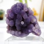 อาเกตพวงองุ่น Grape Agate พร้อมฐาน (21g)