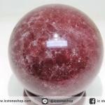 Tanzurine Red Cherry Quartz ทรงบอล (6 cm.)