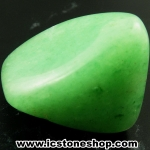 กรีนอะเวนจูรีน (Green Aventurine) ขัดมันขนาดพกพา (18g)