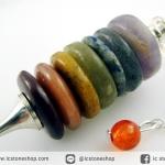 เพนดูลัมหิน 7 จักระชนิดวงแหวน (7 chakra pendulum)