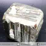 เพชรหน้าทั่ง หรือไพไรต์ pyrite ทรงลูกบาศก์ (176g)