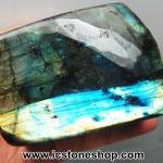 ลาบราดอไลท์ Labradorite ขัดมัน ขนาดตั้งโต๊ะ (937G)