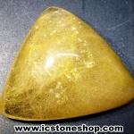 ▽=โปรโมชั่น= พลอยไหมทอง Golden Rutilated Quartz (66.50ct.)