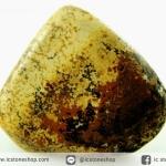 พิคเจอร์แจสเปอร์ (Picture Jasper) หินขัดมันขนาดพกพา (53g)