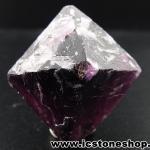 ▽หินฟลูออไรต์ (Fluorite) ธรรมชาติทรงพีระมิคคู่ (16g)