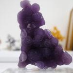 อาเกตพวงองุ่น Grape Agate พร้อมฐาน (17g)