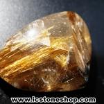 ▽=โปรโมชั่น= พลอยไหมทอง Golden Rutilated Quartz (20ct.)
