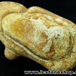 หินเทพธิดา Menalite (Goddess stone) หินของการเจริญเติบโต (79g)