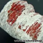 ปะการังแดงกลายเป็นหินจากยูท่าห์ USA (44g)