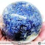 ปีเตอร์ไซต์สีน้ำเงิน (Blue Pietersite) ทรงบอล 7.6 cm