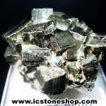 ผลึกกลุ่มไพไรต์ Pyrite เปรูแหล่งสวยสุดในโลก (115g)