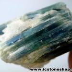 บูลไคยาไนท์กับควอตซ์ (Blue Kyanite wih Quartz) ผลึกธรรมชาติ (69g)