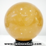แคลไซต์(calcite) ขนาดใหญ่ทรงบอล 9.4 cm 1.218 Kg