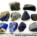 ลาพิส ลาซูลี่ Lapis Lazuli ก้อนธรรมชาติ 10 ชิ้น (104g)