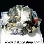 ผลึกกลุ่มไพไรต์ Pyrite เปรูแหล่งสวยสุดในโลก (67g)