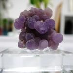 อาเกตพวงองุ่น Grape Agate พร้อมฐาน (4g)