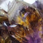 อเมทิสต์-คาค็อกซิไนท์ (Amethyst-Cacoxenite) เกรดA (192G)