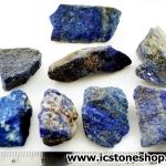 ลาพิส ลาซูลี่ Lapis Lazuli ก้อนธรรมชาติ 8 ชิ้น (104g)