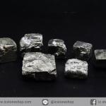 เพชรหน้าทั่ง หรือไพไรต์ pyrite ทรงลูกบาศก์ 7 ชิ้น (50g)