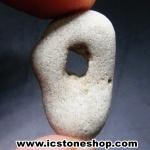 ▽โฮเลย์สโตน Holey Stone 1 รูทะลุผ่าน (6g)