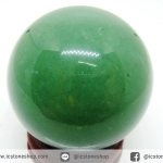 กรีนอะเวนจูรีน (Green Aventurine) ทรงบอล หินทรงกลม 3.9 cm