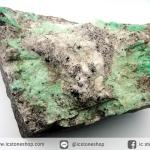 ผลึกมรกตธรรมชาติในก้อนแร่ขนาดใหญ่ (Emerald on Matrix ) (3.79Kg)