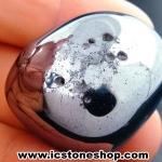 หินเทราเฮิร์ต (Terahertz) หินขัดมันจากญี่ปุ่น (26g) เกรด B