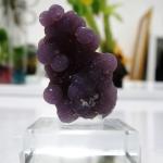 อาเกตพวงองุ่น Grape Agate พร้อมฐาน (11g)