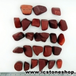 ▽Catlinite หรือเรียกว่า Pipestone หินขัดมัน 25 ชิ้น(200g)