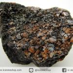 กระดูกไดโนเสาร์จากรัฐยูท่าห์ USA (Agatized Dinosaur Bone) (27.8g)