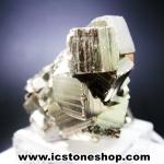 ผลึกกลุ่มไพไรต์ Pyrite เปรูแหล่งสวยสุดในโลก (49g)