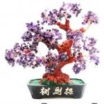 [โปรโมชั่น] ต้นไม้มงคล อเมทิสต์ Amethyst (สูง 30 cm)