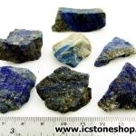ลาพิส ลาซูลี่ Lapis Lazuli ก้อนธรรมชาติ 7 ชิ้น (107g)