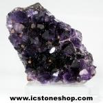 ▽อเมทิสต์ (Amethyst) + แคลไซต์ (Calcite) อุรุกวัย ตั้งโต๊ะ (142G)