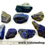 ลาพิส ลาซูลี่ Lapis Lazuli ก้อนธรรมชาติ 8 ชิ้น (109g)