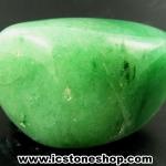 กรีนอะเวนจูรีน (Green Aventurine) ขัดมันขนาดพกพา (26g)